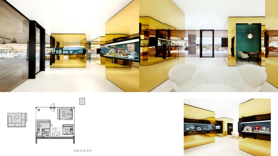 Luxury Store Design 03